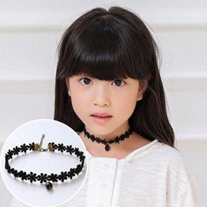 Collier Bijoux Enfants Filles Collier Accessoires Corée Princesse Mode clavicule chaîne bébé Collier