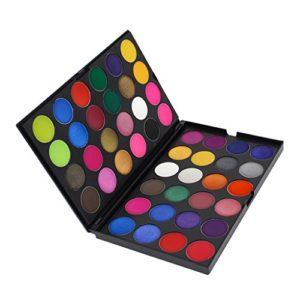 CUTICATE Pressed Glitter & Matte 48 Colors Palette Ombre à Paupières Cosmetic Fine Powder