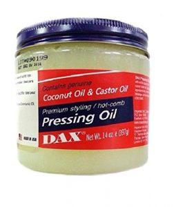 DAX Pressing Oil Coconut Oil & Castor Oil 400G