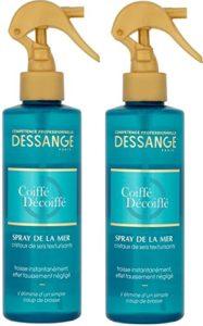Dessange – Spray Coiffant Effet Coiffe/Décoiffe – 200 ml – Lot de 2
