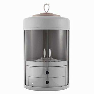 DKGBN Cosmétiques Boîte de Rangement, Grande capacité de Stockage Portable Boîte avec tiroir, Convient for Ranger Vos favoris Fard à Joues, Ombre à paupières, cosmétiques (Color : C)