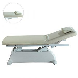 DNNAL Table de Massage Lifting électrique Multifonction Beauté Massage lit réglable 45 Degrees Beauty Salon Lit