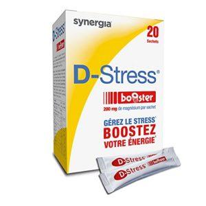 D-Stress Booster ➠ Magnésium hautement assimilé ➠ Formule exclusive de magnésium de 3e génération, taurine, vitamines B