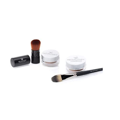 Finisher/Highlighter Poudre Make Up/Pure & Mat/pour nachfettende rapide, brillante de peau Reflectives