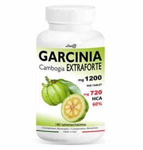 GARCINIA CAMBOGIA Extra Strong 1200mg | 180 tablettes | 100% PUR et NATUREL | 720 mg HCA pour tablette | Fat Burner | Excellent allié des régimes Produit Italien