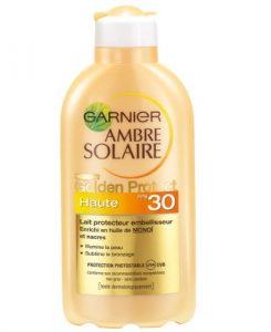 Garnier – Ambre Solaire – Golden Protect Lait Protecteur Embellisseur FPS 30 200 ml