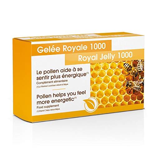 Gelée Royale 1000 I Réduit la fatigue I Défenses Naturelles I Vitalité et Immunité – 30 Comprimés