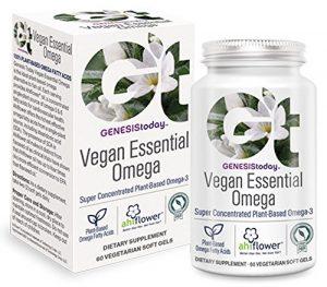 Genesis Végétalien essentiel Omega – 60 gel mou végétarien