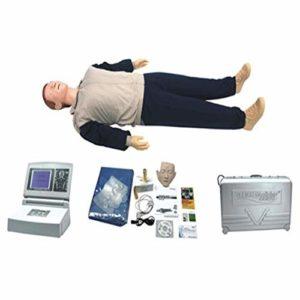 GHTTHJ Tout Le Corps Entraînement Mannequin CPR Pressage Enseignement Modèle De Formation