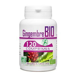 Gingembre Bio – 400 mg – 120 comprimés