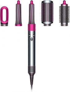 GOMAR 4 en 1 Sèche-Cheveux et Volumizer Styler Salon One Step Multifonction Lisseur Thermostat Intelligent contrôle Bigoudi