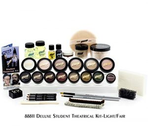 Graftobian Student Theatrical makeup Kit – Deluxe – Light/Fair by Graftobian