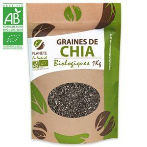 Graines de Chia Bio – 1kg (Salvia hispanica)