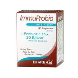 HealthAid ImmuProbio (50 milliards) – 30 Vegicaps