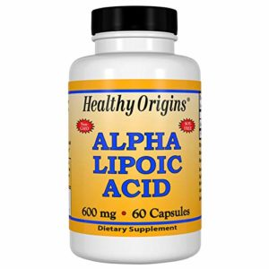Healthy Origins, Acide alpha lipoïque, 600 mg, 60 Capsules