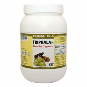 Herbal Hills Triphala 700 Tablets