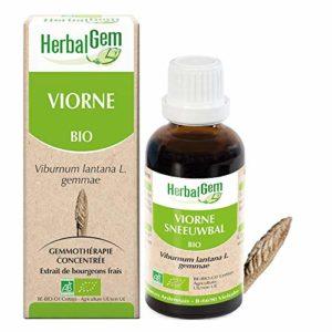 HerbalGem Macérats-Mères de Gemmothérapie Concentrée Viorne Bio