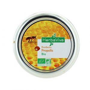 HerbaViva Bonbons Propolis Gelée Royale 50g