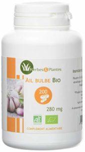 Herbes Et Plantes Ail Bio 200 Gélules Végétales 280 mg