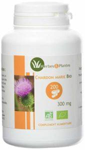 Herbes Et Plantes Chardon Marie Bio 200 Gélules 300 mg
