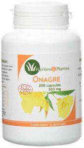 Herbes Et Plantes Onagre Bio 200 Capsules 503 mg