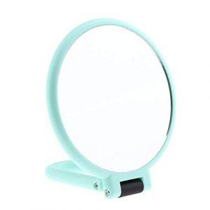 Homyl Miroir de Maquillage de Salle de BainGlace Grossissante Miroir De Vanité De Comptoir pour Maison, Voyage – #1 Grossissant X5