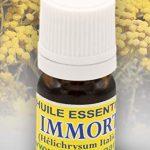Huile essentielle d'immortelle Biologique 3 ml, origine Corse (Hélichrysum Italicum) LIVRAISON OFFERTE