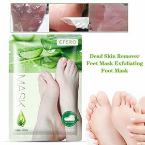 josietomy 1paire Masque Pied Peel, Masque Pieds Exfoliant, Exfoliating Foot Mask pour Soft Tender Feet Démaquillant Exfoliant Peeling Off Peau Morte Et Hydratant Réparateur Traitement Welcoming