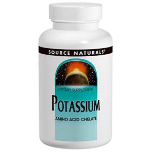 Kalium – chélate d'acides aminés (potassium) – 99 mg – 100 comprimidos