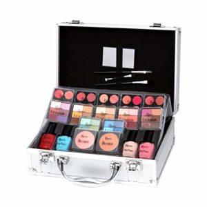 Keeva Cosmetics – Coffret maquillage mallette en aluminium 72 pièces – Diva