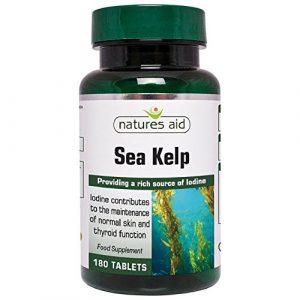 Kelp Natures Sea aide 187mg 180 Comprimés