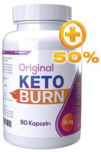 Keto Burn [Original] Grand flacon de 90 gélules