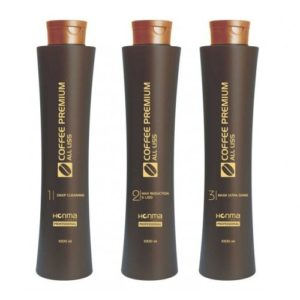 Kit Lissage Brésilien Coffee Premium All Liss 1L