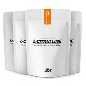 L-CITRULLINE EN POUDRE PACK 3+1 GRATUIT   332 portions/1kg   Circulation, Performances sportives (douleurs musculaires)   Fabriqué en France