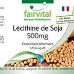 Lécithine de Soja 500mg – Végan – Hautement dosé – 120 Licaps