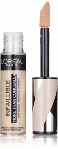 L'Oréal Paris – Correcteur et Fond de Teint 2 en 1 – Infaillible More Than Concealer – Teinte : Avoine (324) – 11 ml