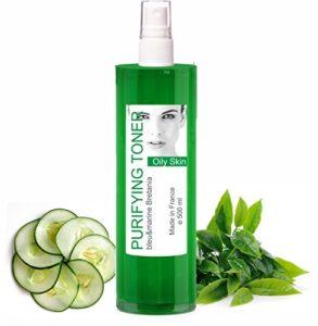 Lotion Tonique Purifiante Peau Grasse et Acné au Thé Vert spray 500 ml – sans alcool