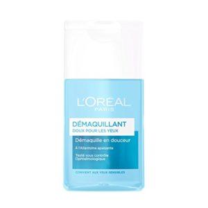 L'Oréal Paris Démaquillant Doux Yeux – Lot de 2×125 ML