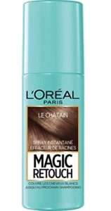 L'Oréal Paris Magic Retouch Spray Retouche Racine Instantané Châtain 75 ml