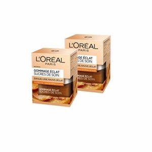 L'Oréal Paris Sucres de Soin Gommage Eclat 50 ml – Lot de 2