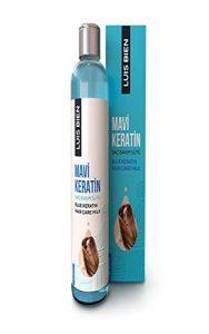 Luis Bien Soin Capillaire Kératine Bleue Pour Cheveux Columisants, Lait Pour Cheveux Mouisturisants-400 ML