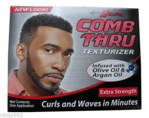 Lusters Scurl Peigne Texturizer Extra Force»Curls and Waves In Minutes» Une application par Lusters