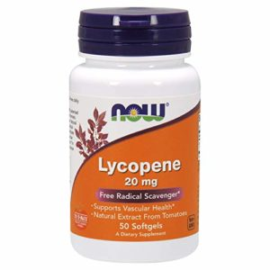 Lycopene 20mg – 50 gélules liquides – Now foods