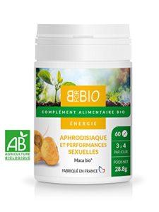Maca Bio – Aphrodisiaque naturel 100% bio – Fabriqué en France
