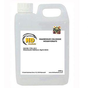 Magnésium FLAKES 1500 g, trempage de bain, chlorure de magnésium
