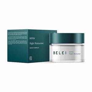 Marque Amazon – Belei – Crème de nuit hydratante Detox, 50 ml