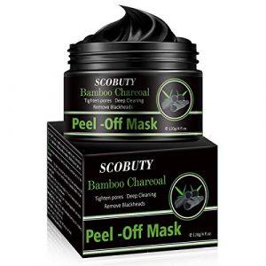 Masque Peel Off,Masque Charbon Point Noir,Masque Point Noirs,Black Mask,Peel Off Mask,Nettoyant en Profondeur Rétrécir Pores Points Noirs Acné 120 ml