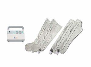 Massage des jambes Massage de la jambe avec compression à air comprimé avec 4 airbags 3 modes Double membres supérieurs et membres inférieurs Thérapie pour la maison/voyage