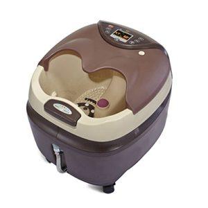 Massage Spa Pied baignoire Entièrement automatique massage pied baignoire électrique massage pied baignoire 3D chauffage électrique pieds bassin (484 * 450 * 523mm) Massagiste à rouleaux