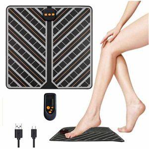 Masseurs électriques pour les pieds Appareil de Massage pour Pieds avec SME Technologie Physiothérapie et Design Ergonomique avec Télécommande Relaxation pour Maison Bureau